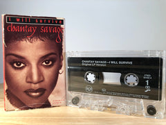 CHANTAY SAVAGE - i will survive - [cassingle] - CASSETTE TAPE
