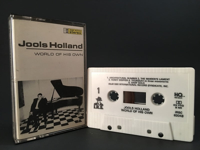 JOOLS HOLLAND - world of his own - CASSETTE TAPE