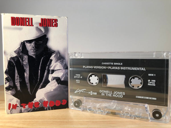 DONELL JONES - in the hood - [cassingle] - CASSETTE TAPE