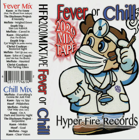 FEVER OR CHILL - various artists/christ cooleye - CASSETTE TAPE [Cassette Week 2020]