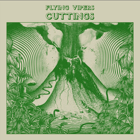 Flying Vipers - cuttings - CASSETTE TAPE [Cassette Week 2020]