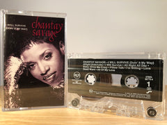 CHANTAY SAVAGE - i will survive [maxi-single] - CASSETTE TAPE