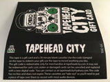 TAPEHEAD CITY GIFT CARD / BLANK CASSETTE - BLUE