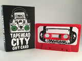 TAPEHEAD CITY GIFT CARD/ BLANK CASSETTE - RED