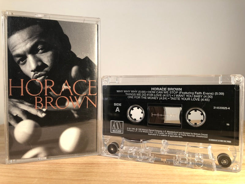 HORACE BROWN - s/t - CASSETTE TAPE
