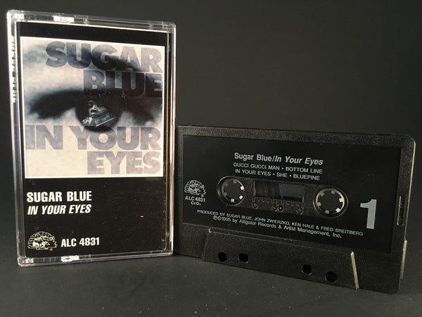 SUGAR BLUE - in your eyes - CASSETTE TAPE