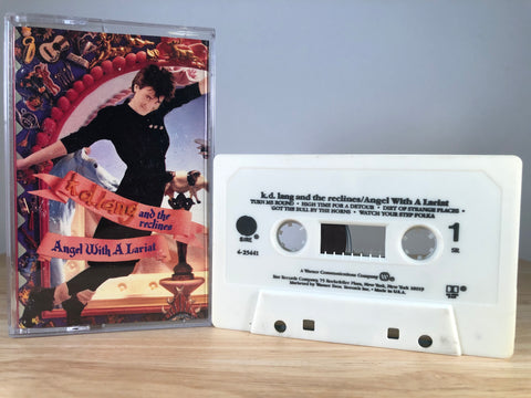 K.D. LANG AND THE RECLINES - angel with a lariat - CASSETTE TAPE