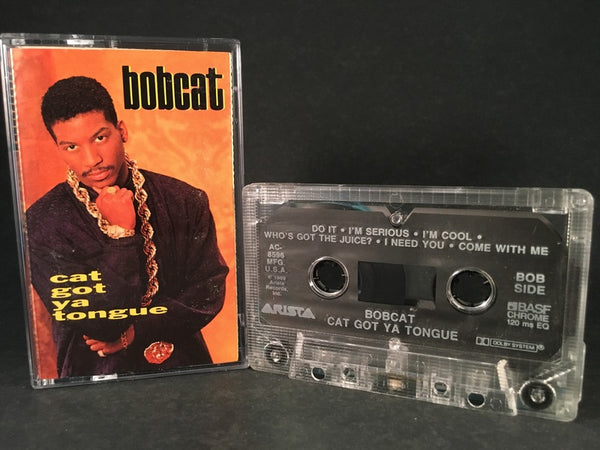 BOBCAT - cat got ya tongue - CASSETTE TAPE