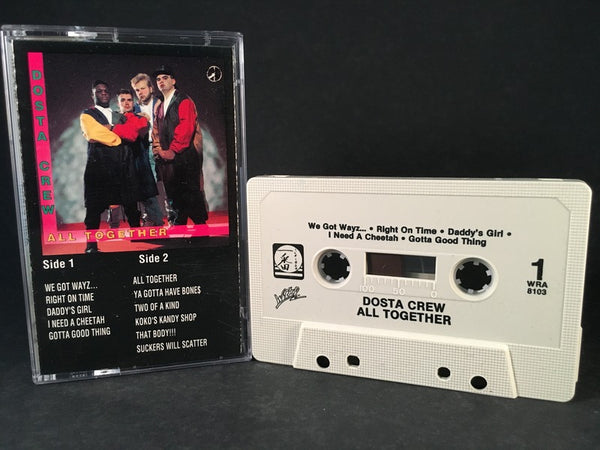 DOSTA CREW - all together - CASSETTE TAPE