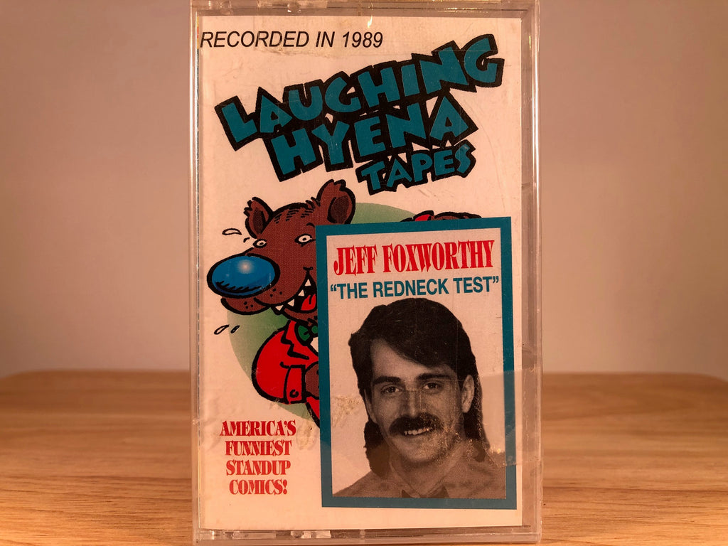 JEFF FOXWORTHY - The redneck test - BRAND NEW CASSETTE TAPE