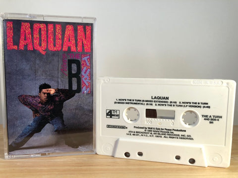 LAQUAN - hows the B turn (maxi-single) - CASSETTE TAPE