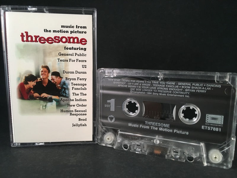 THREESOME - soundtrack - CASSETTE TAPE - alternative