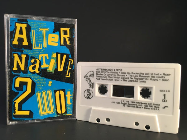 ALTERNATIVE 2 WOT - compilation - CASSETTE TAPE