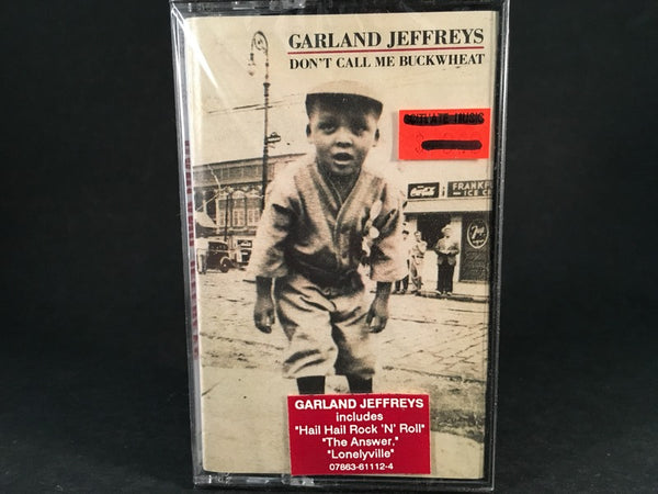 GARLAND JEFFREYS - don't call me buckwheat - BRAND NEW CASSETTE TAPE