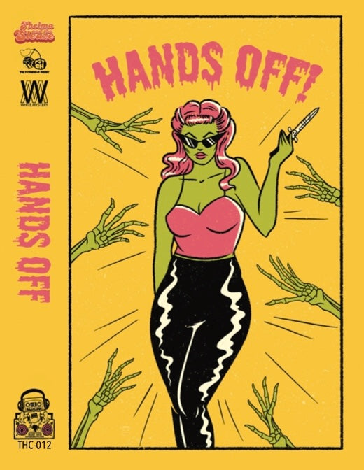 Hands Off! - Various Artists - CASSETTE TAPE & T-SHIRT [pre-order] - SOLD OUT