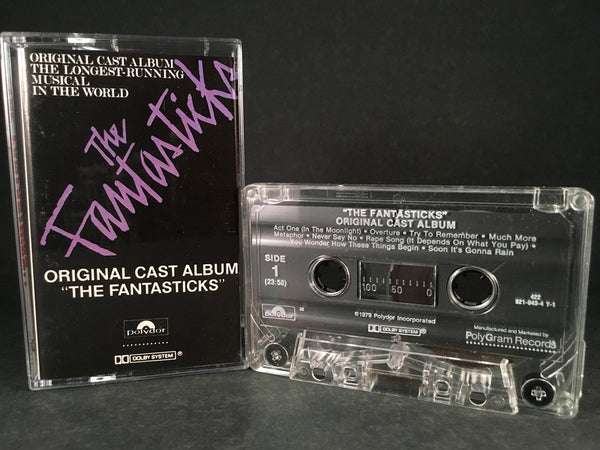 THE FANTASTICKS - soundtrack - CASSETTE TAPE