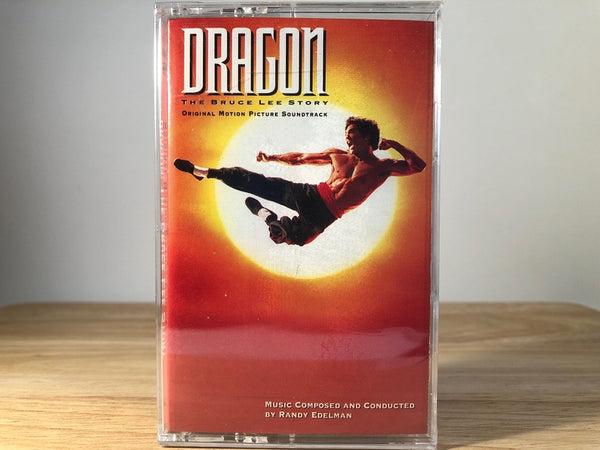 DRAGON - the bruce lee story soundtrack - BRAND NEW CASSETTE TAPE