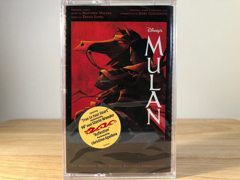MULAN - soundtrack - BRAND NEW CASSETTE TAPE - disney