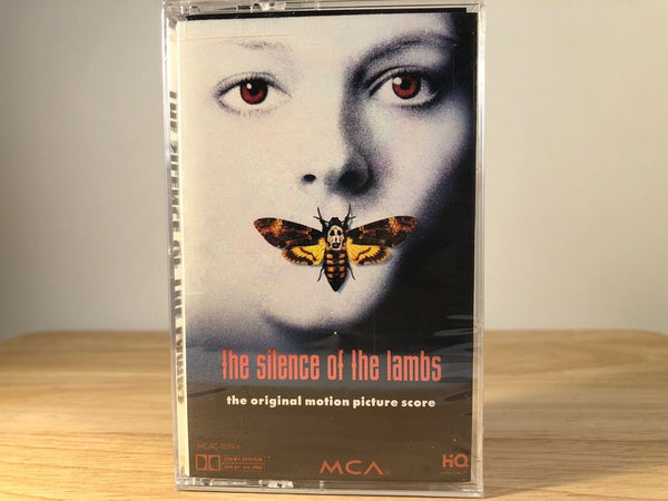 SILENCE OF THE LAMBS - soundtrack - BRAND NEW CASSETTE TAPE [SALE]