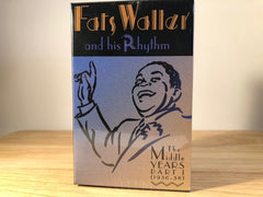 FATS WALLER & HIS RHYTHM - the middle years PART 1 (3 TAPE BOX SET) - BRAND NEW CASSETTE TAPES
