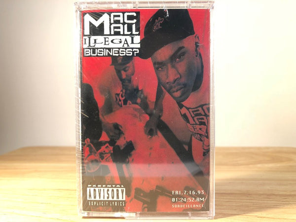 MAC MALL - illegal business? - BRAND NEW CASSETTE TAPE [SALE]