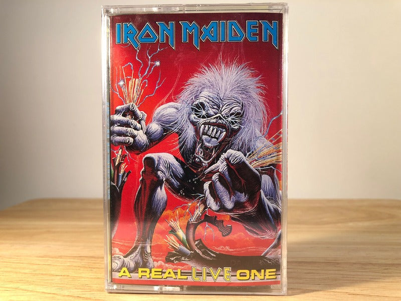 IRON MAIDEN - a real live one - BRAND NEW CASSETTE TAPE
