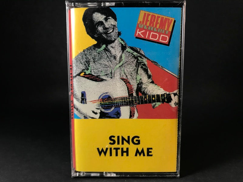 JEREMY KIDD - sing with me - BRAND NEW CASSETTE TAPE