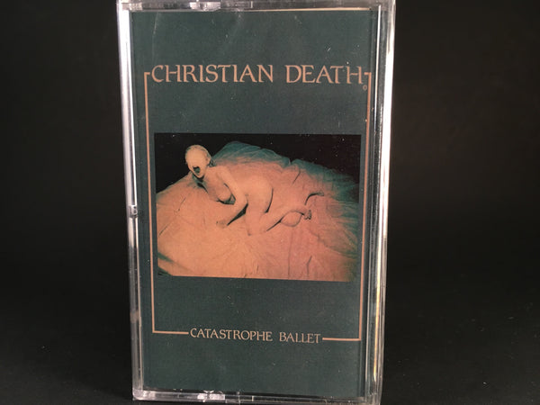 CHRISTIAN DEATH - catastrophe ballet - BRAND NEW SEALED CASSETTE TAPE rock punk