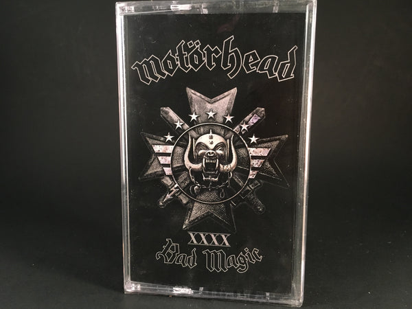 MOTORHEAD - bad magic - BRAND NEW SEALED CASSETTE TAPE