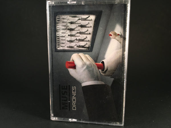 MUSE - drones - BRAND NEW SEALED CASSETTE TAPE