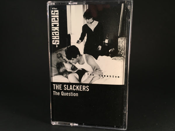 THE SLACKERS - the question - brand new cassette