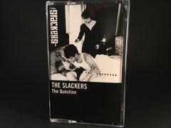THE SLACKERS - the question - brand new cassette ska