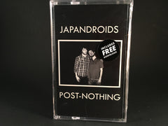 JAPANDROIDS - post-nothing - BRAND NEW SEALED CASSETTE TAPE rock