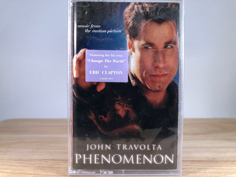 PHENOMENOM - original motion picture soundtrack - BRAND NEW CASSETTE TAPE