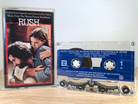 RUSH - soundtrack - CASSETTE TAPE