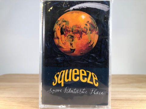 SQUEEZE - some fantastic place - BRAND NEW CASSETTE TAPE