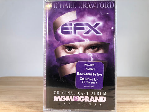 MICHAEL CRAWFORD - efx - BRAND NEW CASSETTE TAPE