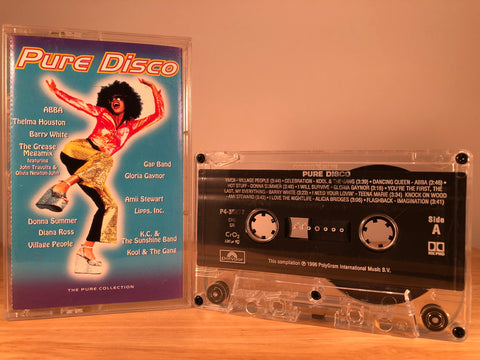 PURE DISCO - CASSETTE TAPE