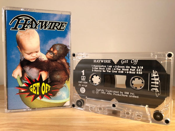 HAYWIRE - get off - CASSETTE TAPE