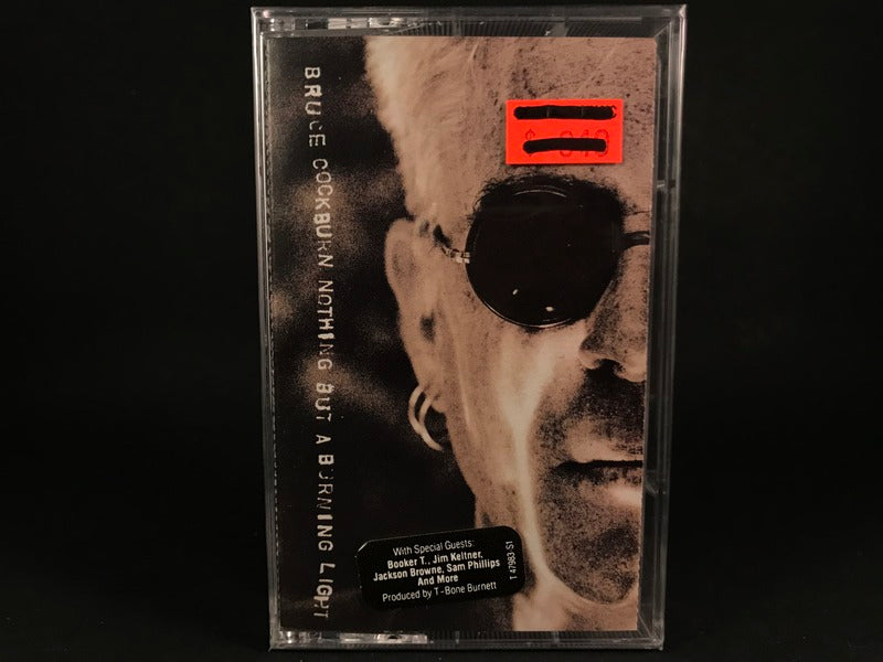 Bruce Cockburn - Nothing But A Burning Light - BRAND NEW CASSETTE TAPE