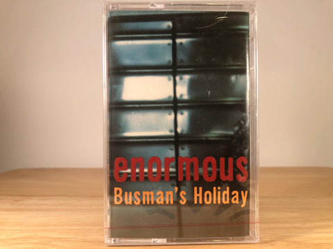 BUSMAN'S HOLIDAY - enormous - BRAND NEW CASSETTE TAPE