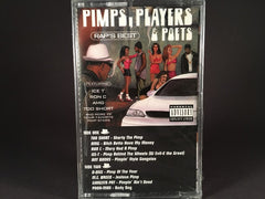 Pimps, Players & Poets - various artists - BRAND NEW CASSETTE TAPE - hiphop