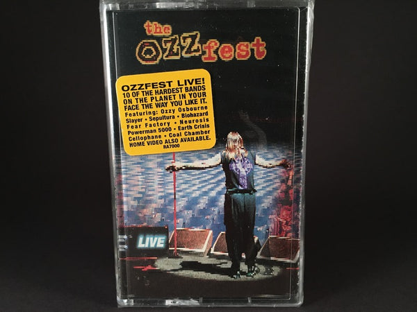Ozz-Fest Live - various artists - BRAND NEW CASSETTE TAPE - [slayer, sepultura, osbourne] metal
