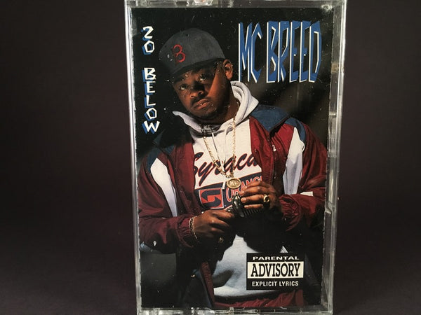 MC Breed – 20 Below - BRAND NEW CASSETTE TAPE - gangsta