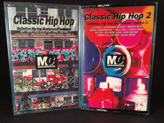 Classic Hip Hop Mastercuts Volumes 1&2 - various artists - BRAND NEW CASSETTE TAPES - hiphop