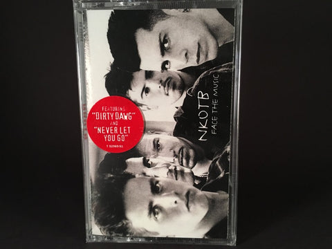 NKOTB – Face The Music - BRAND NEW CASSETTE TAPE - r&b