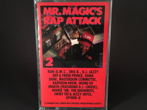 Mr. Magic – Mr. Magic's Rap Attack Volume 2 - BRAND NEW CASSETTE TAPE - hiphop