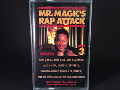 Mr. Magic – Mr. Magic's Rap Attack Volume 3 - BRAND NEW CASSETTE TAPE - hiphop