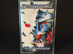 Ultraviolence – life of destructor - BRAND NEW CASSETTE TAPE - eurohouse