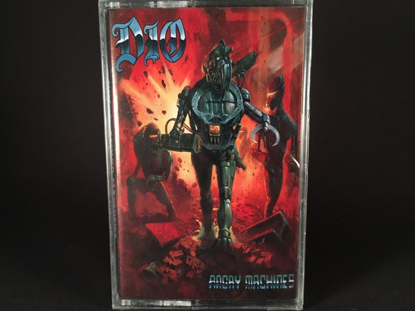 DIO - angry machines - BRAND NEW CASSETTE TAPE
